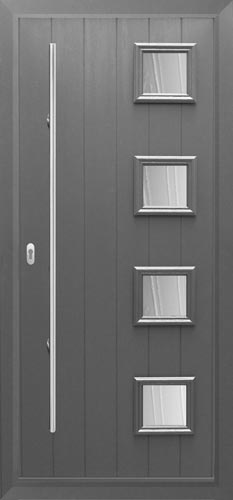 Milano composite door & The Italia Collection Composite Doors / The greenest door from the ...