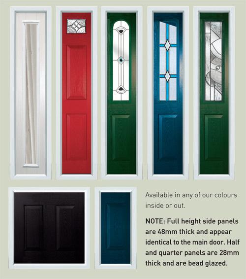 Genial Side Panels For Composite Door