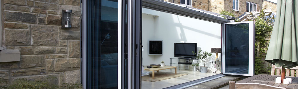 Smart Aluminum Bi-folding Doors